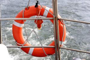 Bootsfahrt auf der Ostsee